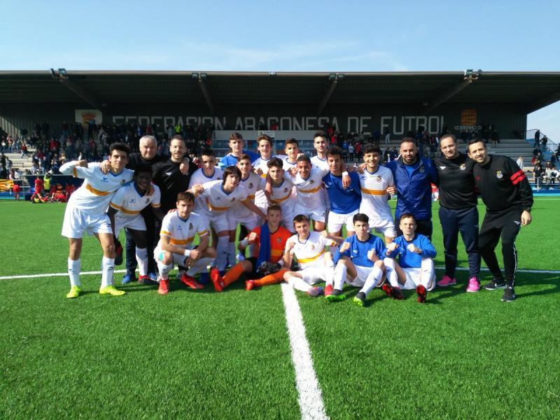 La selección sub-16 logra brillantemente su clasificación para la fase  final del Campeonato de España de selecciones autonómicas c732922dbcd30